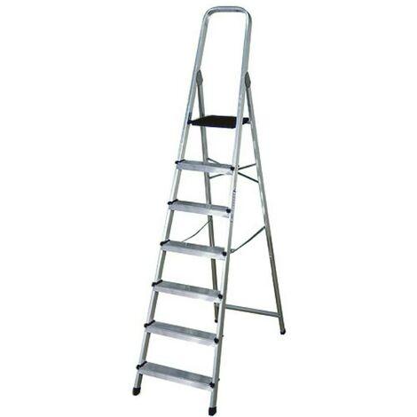 Escalera aluminio 7p.hogar