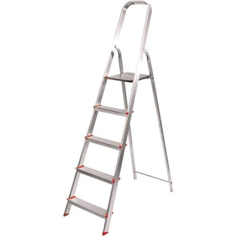Escalera Aluminio 8 Peldaños - NEOFERR - Ph1012