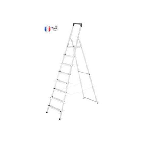 Escalera Aluminio Domestica L40 Easyclix Hailo 8 Peldaños