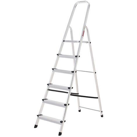 Escalera Aluminio Oryx 6 Pelda