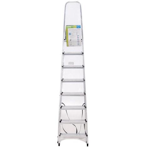 Escalera Aluminio Oryx 8 Peldaños Domestica - NEOFERR..