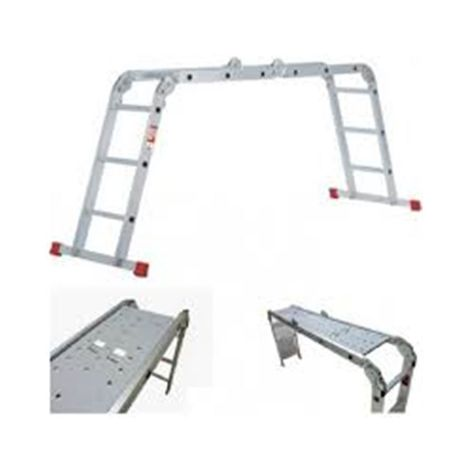 ESCALERA ALUMINIO PLEGABLE 4*4 PEL.4.66 AND.MOV.H@