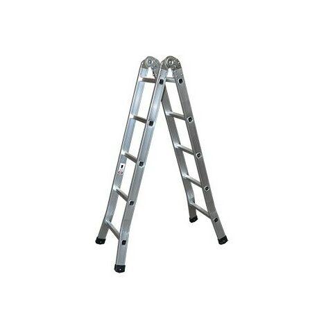 Escalera aluminio tijera industrial 5 p.