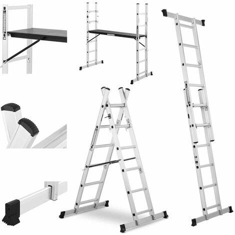 Escalera andamio de aluminio - 2,7 m - 150 kg
