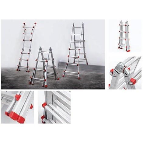 Escalera Articulada Aluminio 4X4 P - NEOFERR - Pt1541