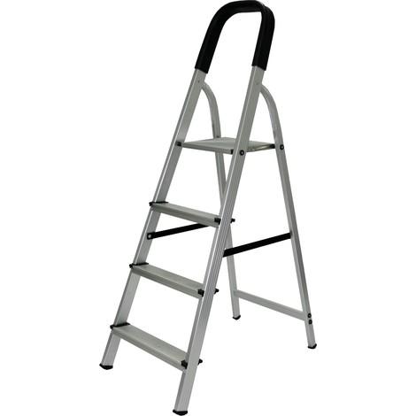 Escalera de Aluminio 4 Peldaños Mader