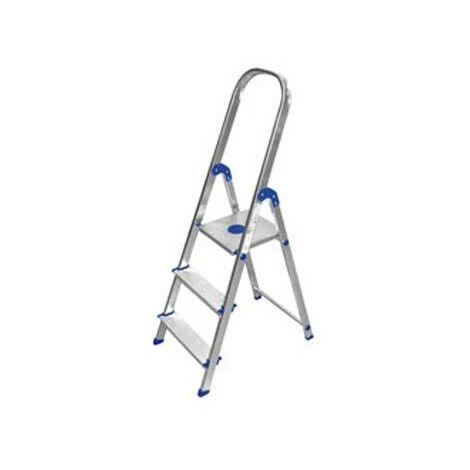 Escalera de aluminio doméstica Kylate 5 peldaños anchos