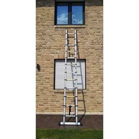 Escalera de aluminio multiusos Plegable multifuncional escalera telescópica escalera de mano 3.8m