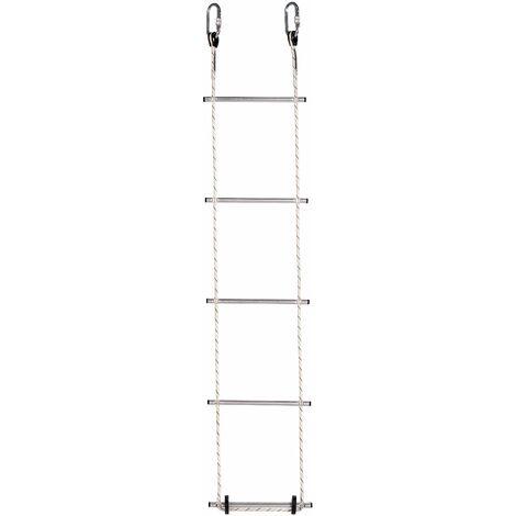 Escalera de cuerda de poliéster - Peldaños 310 mm (ref. DL010) | 11m