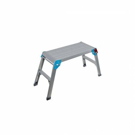 Escalera de plataforma plegable 580x300 mm - 150 kg