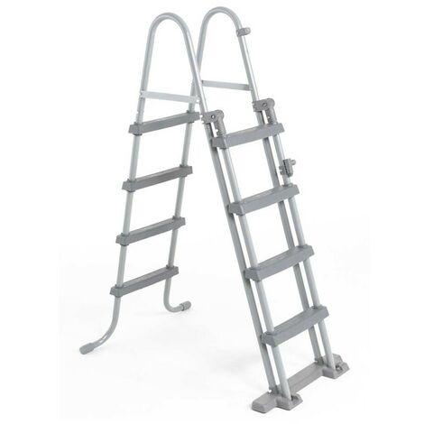 Escalera de Seguridad de Tijera BestWay para piscinas 122 cm