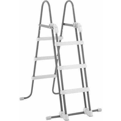 """main image of """"Escalera de seguridad intex para piscinas elevadas de altura 91-107 cm"""""""