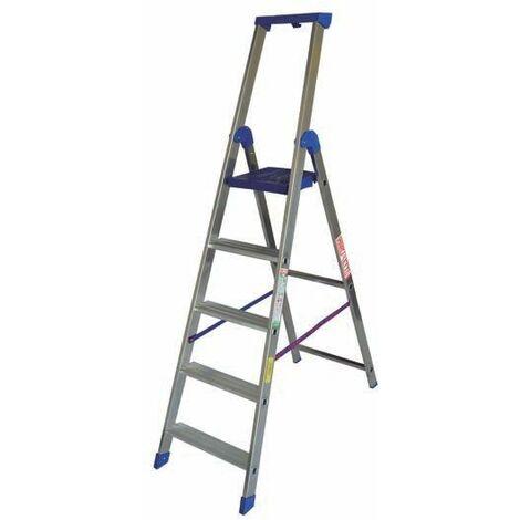 Escalera de tijera profesional 4 peldaños MARCHETTI CLIMB CLIMB EVO04