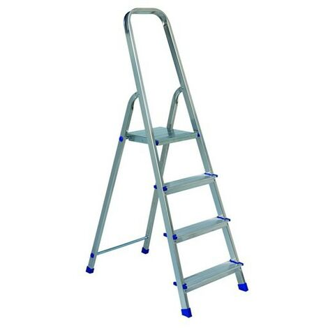 Escalera de tijera VERDE acero/aluminio 4m