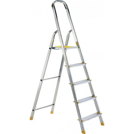 Escalera del hogar 1240 mm 1 x 6 peldaños