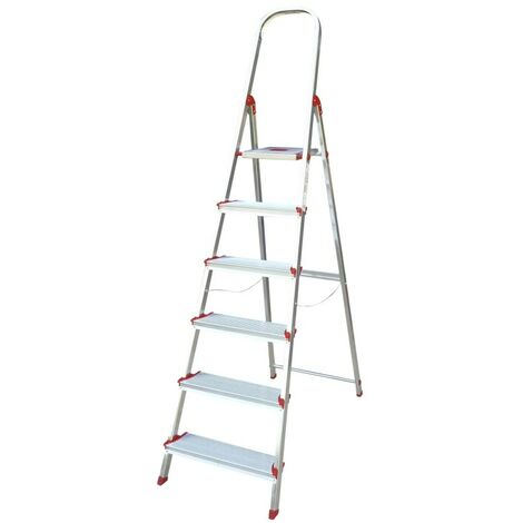 Escalera dom 1,22mt tijera rolser alu ro norma 220 nor039
