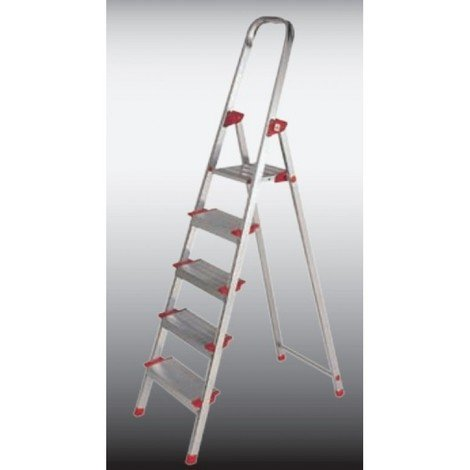 Escalera dom tijera 3,02mt 5p alu new plus kettal