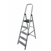 Escalera doméstica de Aluminio tijera un acceso con asa SERIE 370 5 peldaños