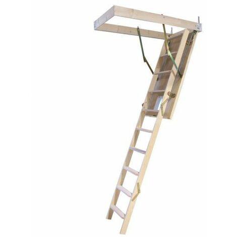 Escalera escamoteable LC-3 ISO 120x60 cm Maydisa