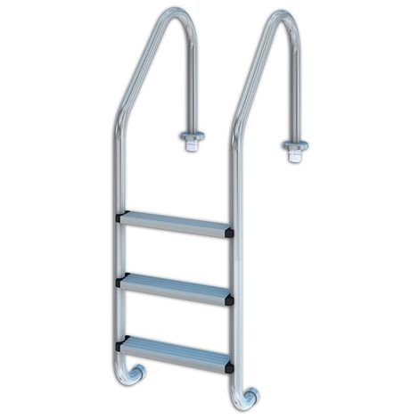 Escalera estándar de acero 3 peldaños