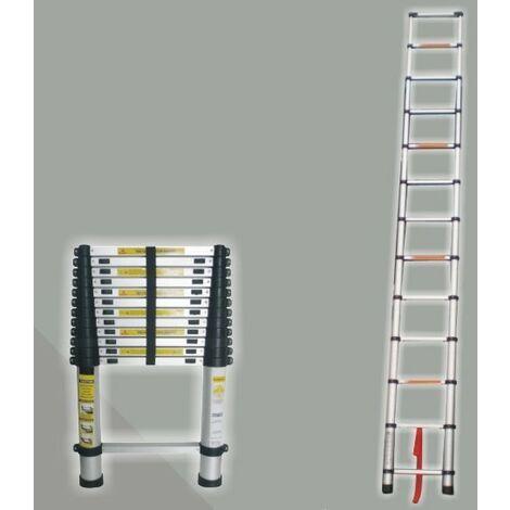Escalera Extensible - Aluminio - 12 Pasos