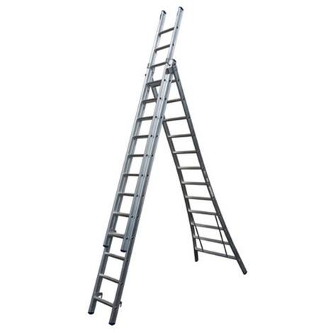 Escalera extensible aluminio MAXALL 3x8