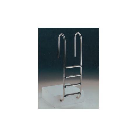 Escalera Muro Astralpool Inox AISI 316, 2 peldaños Luxe Cod:05480