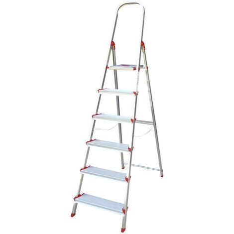 Escalera Norma 220 6 peldaños (Rolser NOR039)