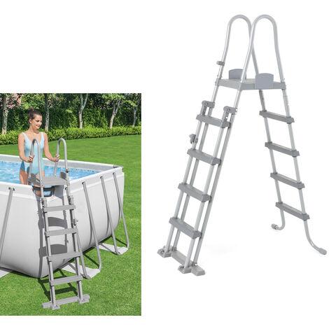 Escalera piscina alto 132 cm.