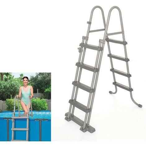 Escalera piscina alto 84 cm.