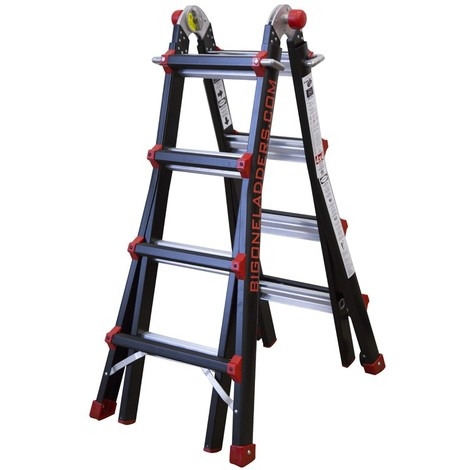 Escalera plegable Big One 4x4 IBERANDAMIOS