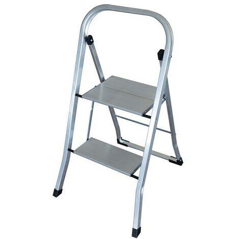 Escalera Plegable De 2 Peldaños Altipesa Ultralight Aluminio