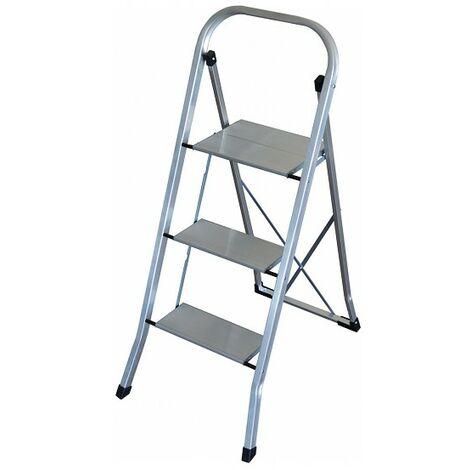 Escalera Plegable De 3 Peldaños Altipesa Ultralight Aluminio