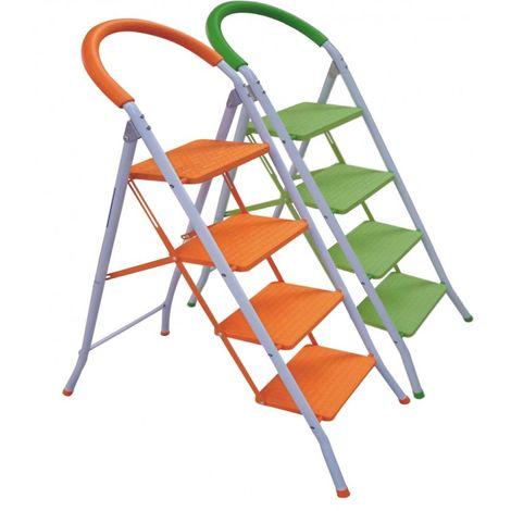 Escalera Plegable Multi-Función con Peldaños y Tope Anti-deslizantes. Mod.: Step de Eneide. Taburete Multi-uso