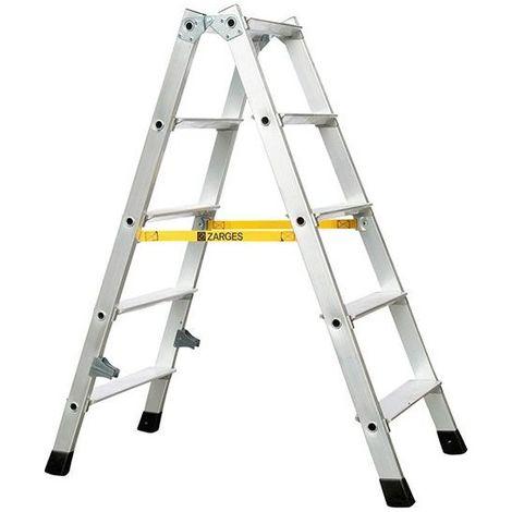 Escalera plegable NOVA 2 x 5 escalones