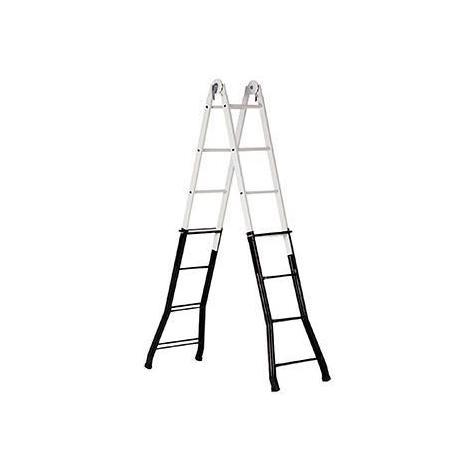 Escalera Telesc.acero-alum.4x4