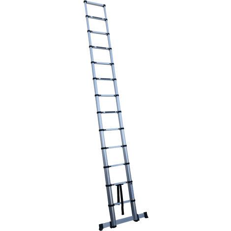 Escalera telescópica 12 peldaños