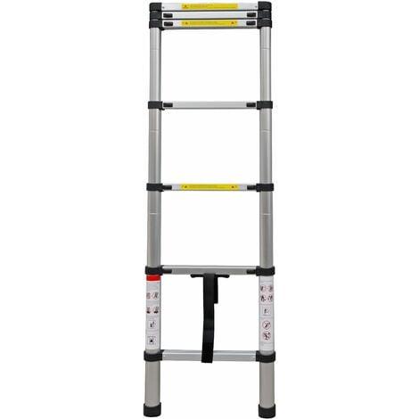 Escalera teléscopica 2 m