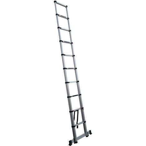 Escalera Telescópica 9 peldaños