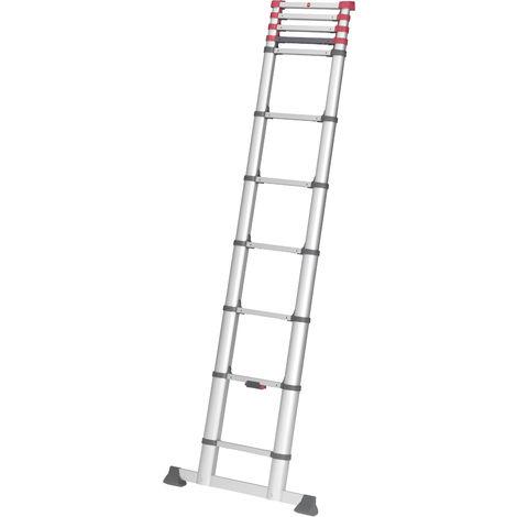 Escalera telescópica - aluminio - FlexiLine - hailo_7113