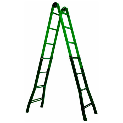 Escalera telescópica de acero 4x4 Innova