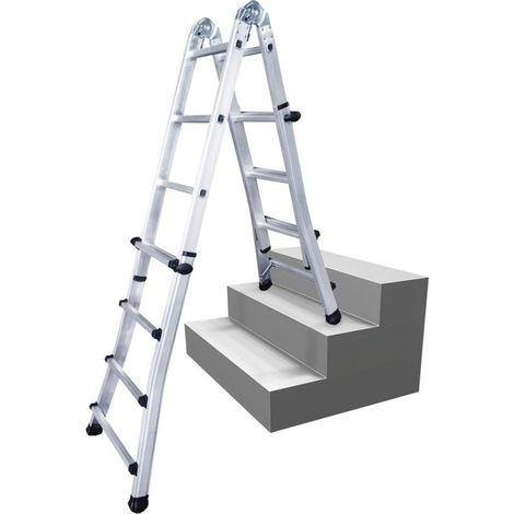 Escalera telescópico de usos múltiples 4,10m 12,0kg