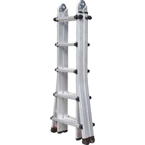 Escalera telescópico de usos múltiples 5,24m 15,4kg