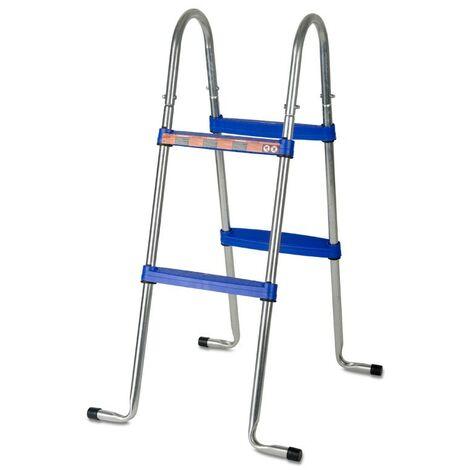 Escalera tijera 98 cm 2×2 peldaños piscina GRE AR109 AR109