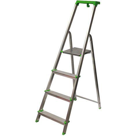 Escalera Tijera c/ Bandeja Superior Multifuncional