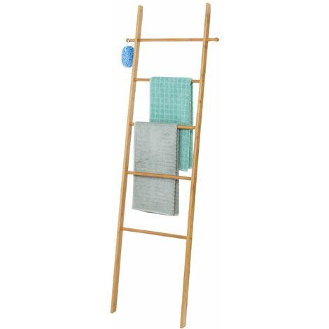 Escalera-toallero Bahari de bambú Wenko