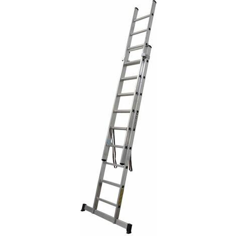 Escaleras Aluminio 2 tramos EN 131