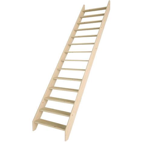 Escalier de meunier 80 cm (Pin)