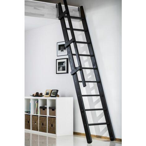 Escalier De Meunier Escamotable Extensible Pour Cage d'Escalier 60 X 90 cm - RAL 9005