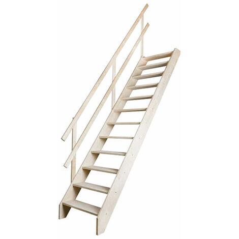 Escalier de meunier - Hauteur max. de la pièce de 315cm (plusieurs tailles disponibles)